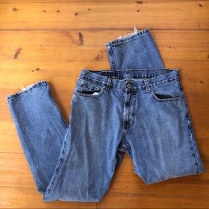 Tommy Hilfiger Jean Men 31x32 Custom Straight Leg